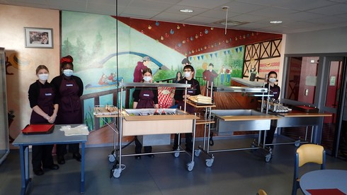 CAP Production et Service en Restaurations : Formule Express au restaurant Le Cochelet
